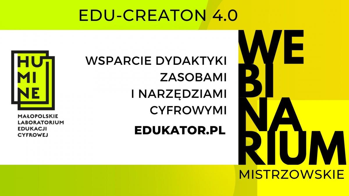 Wsparcie dydaktyki zasobami i narzędziami cyfrowymi: Edukator.pl
